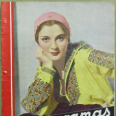 Cine: AAD36 ANNA STEN REVISTA ESPAÑOLA CINEGRAMAS FEBRERO 1935 Nº 24. Lote 191618877