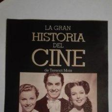 Cine: LA GRAN HISTORIA DEL CINE CAPÍTULO 33. Lote 191618930