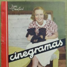 Cine: AAD41 CAROLE LOMBARD REVISTA ESPAÑOLA CINEGRAMAS MARZO 1935 Nº 29. Lote 191620220