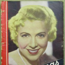 Cine: AAD42 CATALINA BARCENA REVISTA ESPAÑOLA CINEGRAMAS ABRIL 1935 Nº 30. Lote 191620440