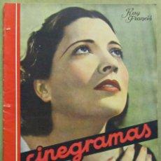 Cine: AAD44 KAY FRANCIS REVISTA ESPAÑOLA CINEGRAMAS ABRIL 1935 Nº 32. Lote 191620952