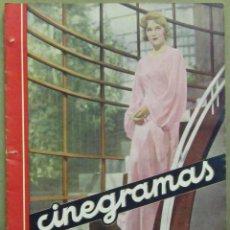 Cine: AAD46 MADELEINE CARROLL REVISTA ESPAÑOLA CINEGRAMAS MAYO 1935 Nº 34. Lote 191621375