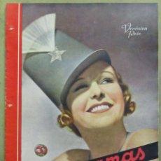 Cine: AAD47 VERONICA ROSE REVISTA ESPAÑOLA CINEGRAMAS MAYO 1935 Nº 36. Lote 191621897