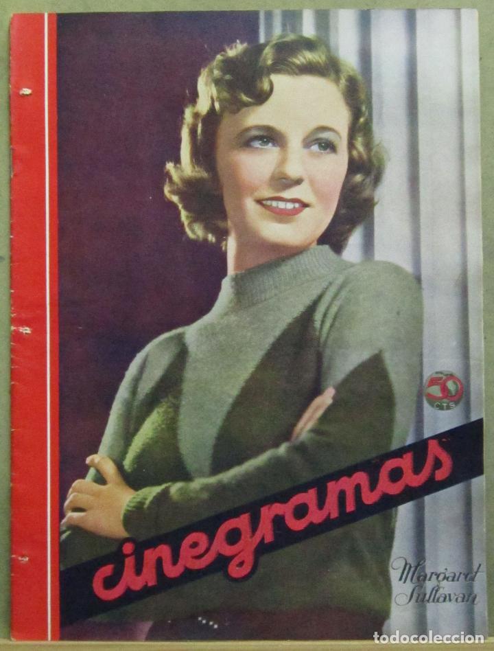 AAD49 MARGARET SULLAVAN REVISTA ESPAÑOLA CINEGRAMAS MAYO 1935 Nº 37 (Cine - Revistas - Cinegramas)