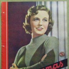 Cine: AAD49 MARGARET SULLAVAN REVISTA ESPAÑOLA CINEGRAMAS MAYO 1935 Nº 37. Lote 191622091