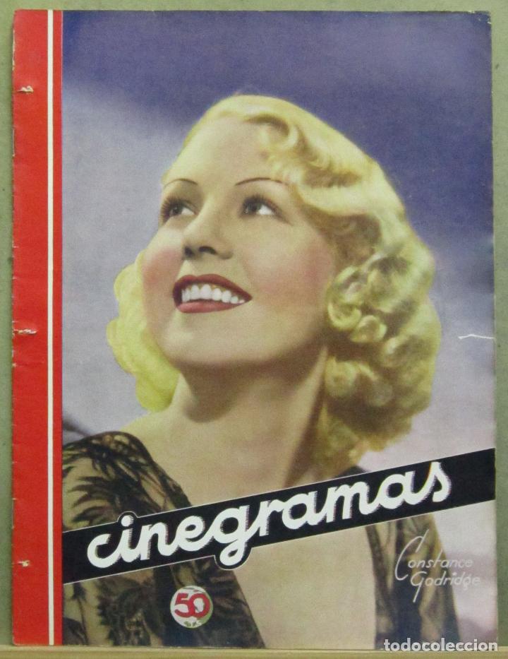 AAD51 CONSTANCE GODRIDGE REVISTA ESPAÑOLA CINEGRAMAS JUNIO 1935 Nº 39 (Cine - Revistas - Cinegramas)