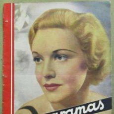 Cine: AAD54 MADELEINE CARROLL REVISTA ESPAÑOLA CINEGRAMAS JUNIO 1935 Nº 41. Lote 191622790