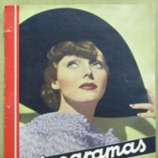 Cine: AAD53 ADRIENNE AMES REVISTA ESPAÑOLA CINEGRAMAS JUNIO 1935 Nº 42. Lote 191622873
