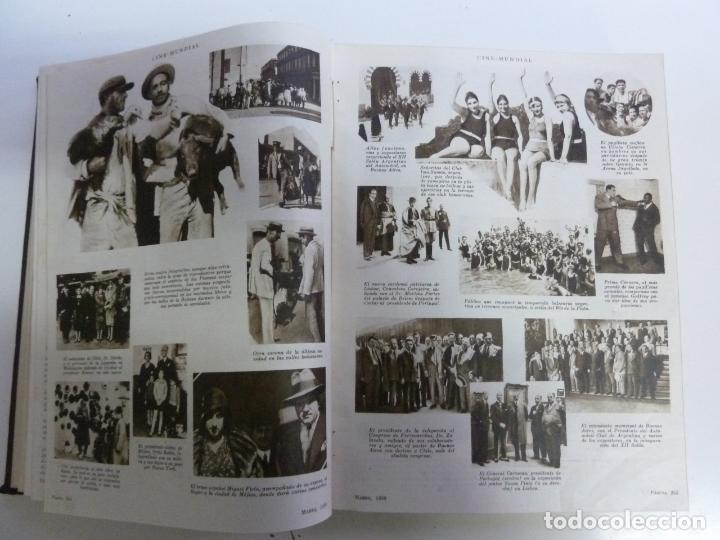 Cine: REVISTAS ENCUADERNADAS EN UN TOMO. CINE MUNDIAL. AÑO 1930 - Foto 3 - 191643628