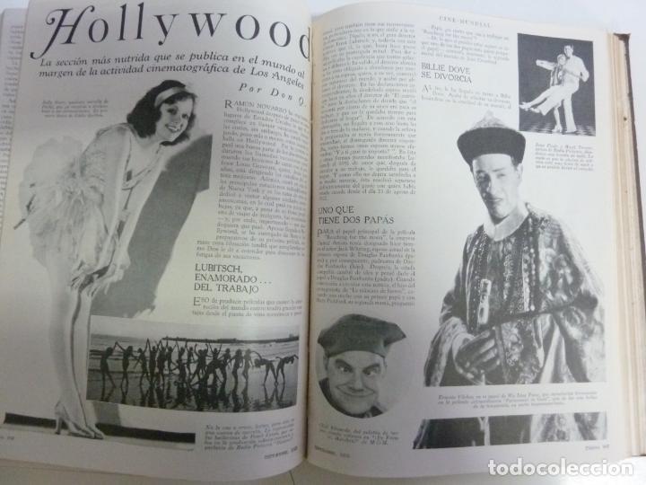 Cine: REVISTAS ENCUADERNADAS EN UN TOMO. CINE MUNDIAL. AÑO 1930 - Foto 5 - 191643628
