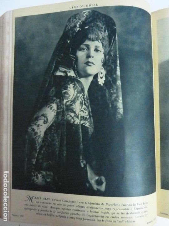 Cine: REVISTAS ENCUADERNADAS EN UN TOMO. CINE MUNDIAL. AÑO 1929 - Foto 5 - 215570431
