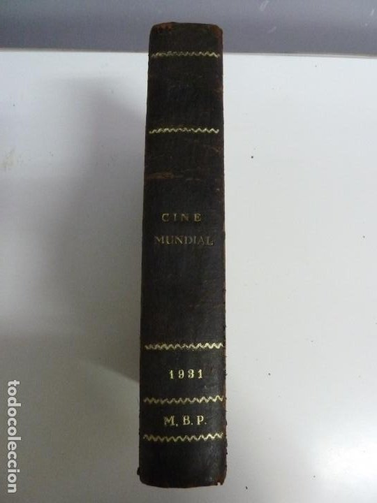Cine: REVISTAS ENCUADERNADAS EN UN TOMO. CINE MUNDIAL. AÑO 1931 - Foto 2 - 191649211