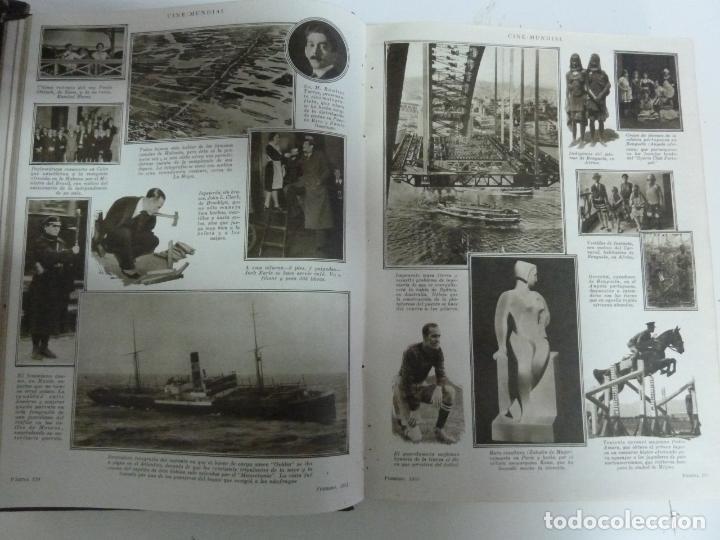 Cine: REVISTAS ENCUADERNADAS EN UN TOMO. CINE MUNDIAL. AÑO 1931 - Foto 3 - 191649211