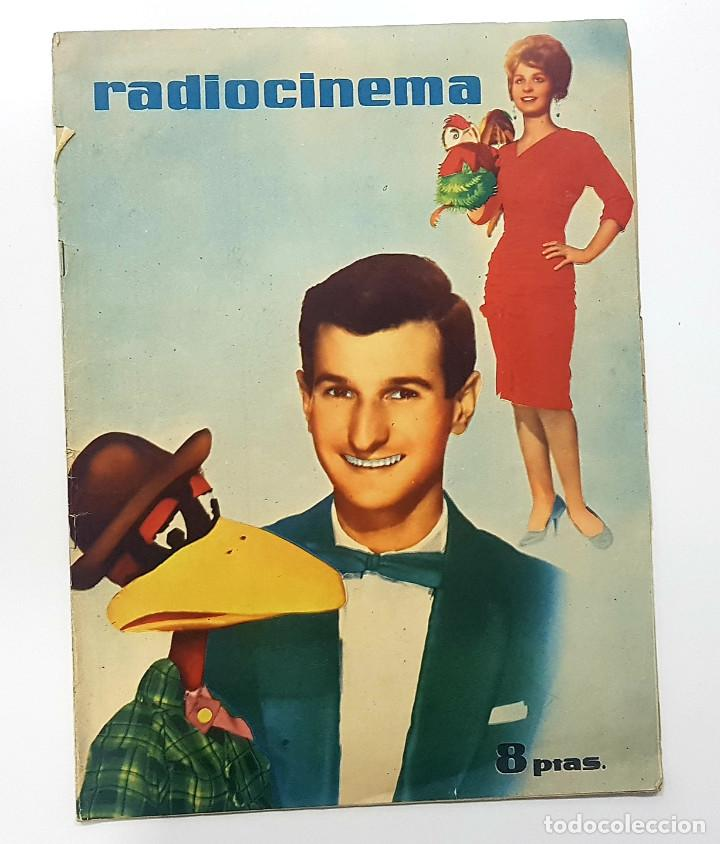 REVISTA RADIO CINEMA 1959 Nº 469 (FANCISCO RABAL, LA FIEL INFANTERIA, VERA TSCHCHOWA) (Cine - Revistas - Radiocinema)