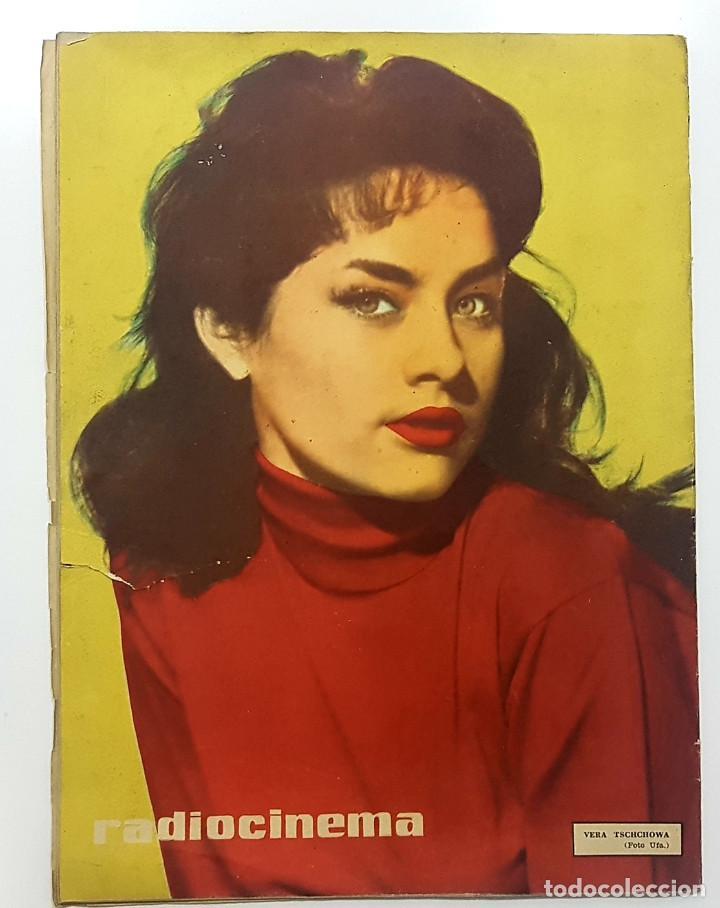 Cine: REVISTA RADIO CINEMA 1959 nº 469 (Fancisco Rabal, La fiel infanteria, Vera Tschchowa) - Foto 2 - 191760927