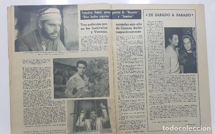 Cine: REVISTA RADIO CINEMA 1959 nº 469 (Fancisco Rabal, La fiel infanteria, Vera Tschchowa) - Foto 3 - 191760927