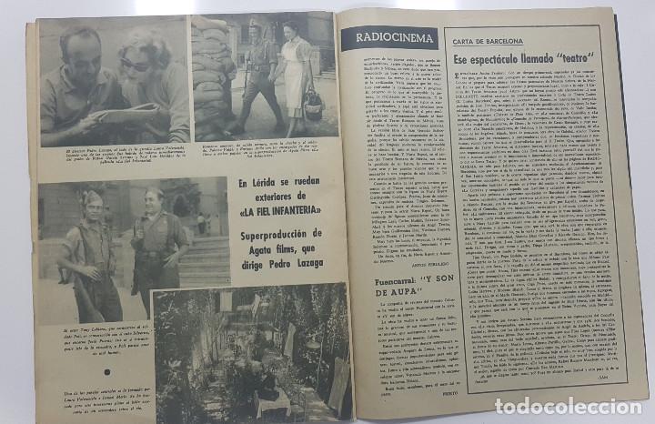 Cine: REVISTA RADIO CINEMA 1959 nº 469 (Fancisco Rabal, La fiel infanteria, Vera Tschchowa) - Foto 4 - 191760927