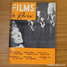 Cinema: FILMS IN REVIEW NOVEMBER 1964. THE AMERICANIZATION OF EMILY, FOUR DAYS IN NOVEMBER, MARY POPPINS.... Lote 191769223