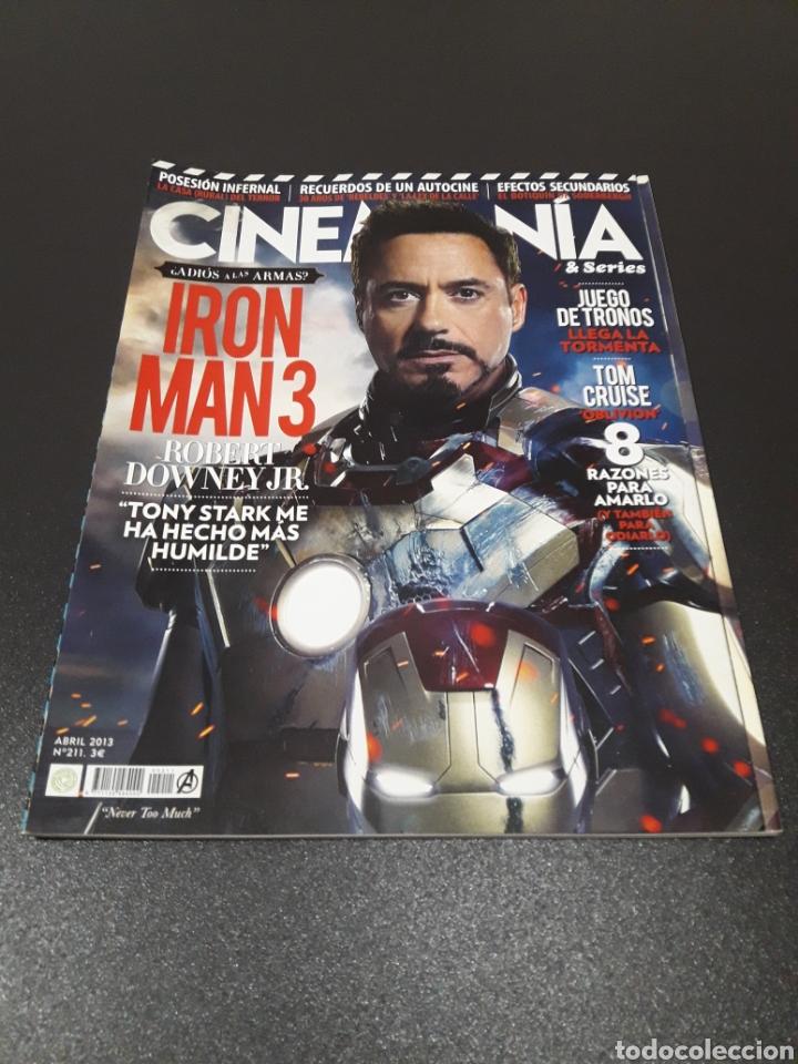 CINEMANIA N° 211. ABRIL 2013. IRON MAN 3. (Cine - Revistas - Cinemanía)