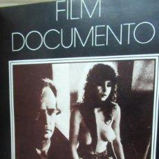 Cine: + FILM DOCUMENTO TOMO CON LOS NUMEROS 1 AL 8 ENCUADERNADOS. Lote 191773740