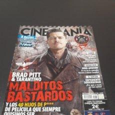 Cine: CINEMANIA N° 168. SEPTIEMBRE 2009. BRAD PITT Y TARANTINO. MALDITOS BASTARDOS.. Lote 191779765