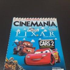 Cine: CINEMANIA N° 190. JULIO 2011. CARS 2.. Lote 191779922