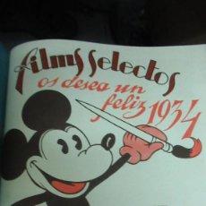 Cine: REVISTA DE CINE FILMS SELECTOS 4 TOMOS AÑOS 1932 Y 33 NUMEROS DEL 98 AL 168. Lote 191780025