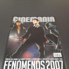 Cine: CINEMANIA N° 136. ENERO 2007. FENÓMENOS 2007.. Lote 191780337