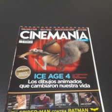 Cine: CINEMANIA N° 202. JULIO 2012. ICE AGE 4.. Lote 191782055