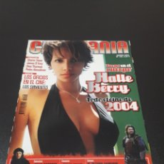 Cine: CINEMANIA N° 100. ENERO 2004. HALLE BERRY.. Lote 191782845