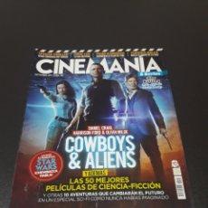 Cine: CINEMANIA N° 192. SEPTIEMBRE 2011. DANIEL CRAIG, HARRISON FORD, OLIVIA WILDE.. Lote 191783097