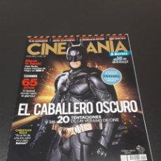 Cine: CINEMANIA N° 201. JUNIO 2012. BATMAN. EL CABALLERO OSCURO.. Lote 191783338