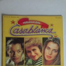 Cine: TRES CHICAS PAPELES DE CINE CASABLANCA NÚMERO 12 AÑO 1981. Lote 191799042