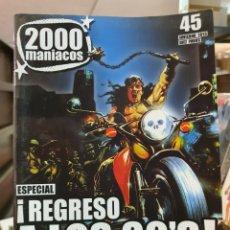 Cine: 2000 MANIACOS N° 45. INVIERNO 2013. Lote 191847028