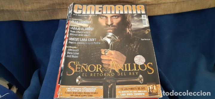 REVISTA CINE CINEMANIA N 96 SEPTIEMBRE 2003 SEÑOR ANILLOS (Cine - Revistas - Cinemanía)