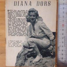 Cine: DIANA DORS. ÍDOLOS DEL CINE.. Lote 192051351