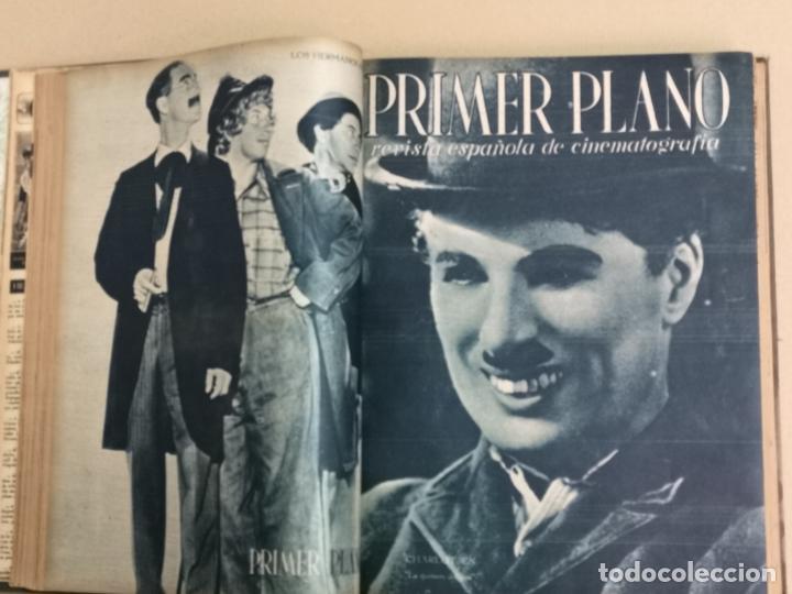 PRIMER PLANO TOMO CON 30 REVISTAS (Cine - Revistas - Primer plano)