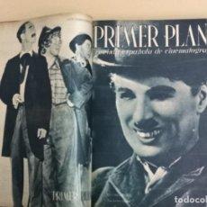 Cine: PRIMER PLANO TOMO CON 30 REVISTAS. Lote 192080577