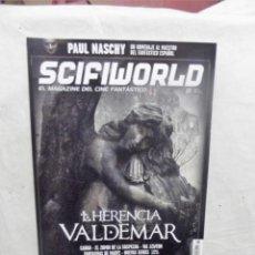Cinema: REVISTA SCIFIWORLD Nº 22 LA HERENCIA VALDEMAR EL MAGAZINE DEL CINE FANTASTICO. Lote 192083891