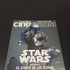 Cine: CINEMANIA N° 80. MAYO 2002. STAR WARS.. Lote 192153382