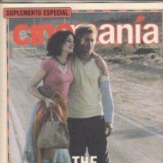 Cine: SUPLEMENTO REVISTA CINEMANIA Nº 71 AÑO 2001. THE MAXICAN. BRAD PITT Y JULIA ROBERTS.. Lote 192252718