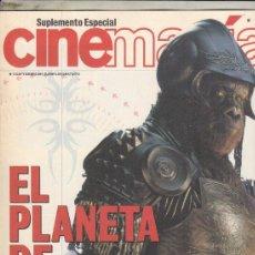 Cine: SUPLEMENTO REVISTA CINEMANIA Nº 72 AÑO 2001. EL PLANETA DE LOS SIMIOS.. Lote 192252997