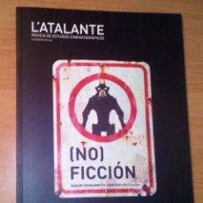 Cine: L'ATALANTE. REVISTA DE ESTUDIOS CINEMATOGRÁFICOS 9, 2010 - CINE DE (NO)FICCIÓN / ISAKI LACUESTA. Lote 145282038