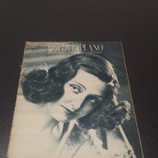Cine: PRIMER PLANO N° 156. 10 DE OCTUBRE 1943. ROSITA MENDÍA.. Lote 192319271
