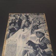 Cine: PRIMER PLANO N° 158. 24 DE OCTUBRE 1943. JOSE LUIS SÁENZ, TRINI MONTERO, MANUEL LUNA.. Lote 192319767