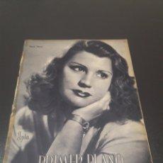 Cine: PRIMER PLANO N° 165. 12 DE DICIEMBRE 1943. MARTA FLORES.. Lote 192320118
