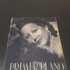 Cine: PRIMER PLANO N° 166. 19 DE DICIEMBRE 1943. RAQUEL RODRIGO, RAÚL CANCIO.. Lote 192320497