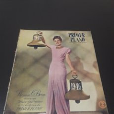 Cine: PRIMER PLANO N° 324. 29 DE DICIEMBRE 1946. VIRGINIA O'BRIEN, MIRNA LOY, DON AMECHE.. Lote 192325672