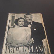 Cine: PRIMER PLANO N° 75. 22 DE MARZO 1942. MARY SANTAMARÍA, RAÚL CANCIO, MARGRIT DEBAR.. Lote 192338460
