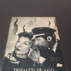Cine: PRIMER PLANO N° 85. 31 DE MAYO 1942. CONCHITA MONTENEGRO, JOSÉ NIETO, DANIELLE DARRIEUX.. Lote 192339278
